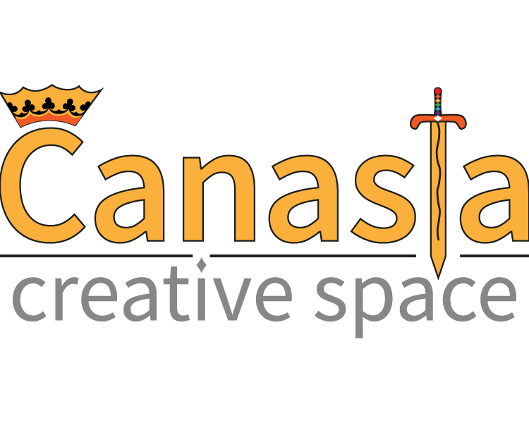 Canasta Creative Space logo Created By wolF