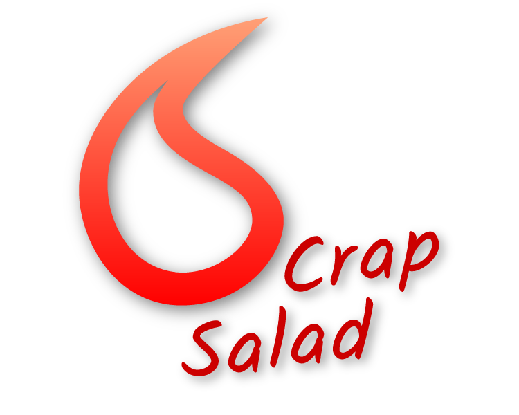 Crap Salad logo Created By wolF